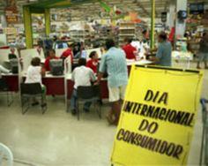 Dia Internacional do Consumidor - 15 de março
