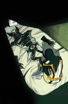 Lobeznos 52Número triple! El amor ha surgido entre X-23 y... ¡Bueno, tendrás que leerlo para descubrirlo! Y no es el único romance en el horizonte. Dama Mortal ha quedado prendada de una de las dos personalidades de Shogun. ¿Cuál de ellas? ¡No te lo pierdas