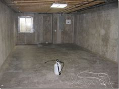 Painting An Unfinished Basement. Some Good Tips On The Process. I Prefer To  Seal