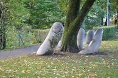 'The Caring Hand', Glarus, Switzerland