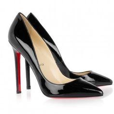 Sapato Pump Preto Brilhante Importado