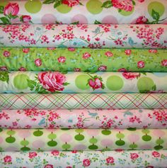 Sugar Hill by Tanya Whelan Designer Fabric spiceberrycottage, $34.95