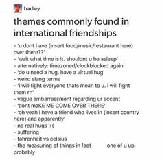 Yes. I have friends in England, Norway, UAE, and India. All of these are very real and present issues.