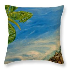 Coastal Mood Throw Pillow for Sale by Faye Anastasopoulou