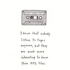 Work by Marc Johns  #marcjohns #cassette #tape #illustration
