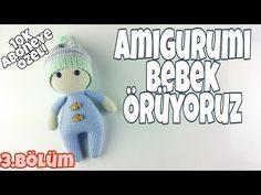 (Amigurumi) Knitting Doll Making - Arm and Leg Making Knitted Dolls, Crochet Dolls, Crochet Baby, Free Crochet, Amigurumi Toys, Amigurumi Patterns, Amigurumi For Beginners, Crochet Motifs, Stuffed Toys Patterns
