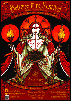 """I want to thank all who voted for my """"May Queen"""" to be chosen for the Beltane Fire Festival poster! It seems like you'll be seein. May Queen - Beltane Fire Festival"""