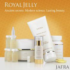 JAFRA's Royal Jelly: Ancient secrets. Modern science. Lasting beauty.