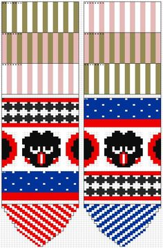 candy socks for my hubby, design by me. Knitting Charts, Knitting Socks, Knitting Patterns, Crochet Patterns, Marimekko Fabric, Sock Crafts, Fingerless Mittens, Fair Isle Knitting, Crochet Chart
