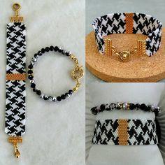 off loom beading techniques Loom Bracelet Patterns, Bead Loom Bracelets, Beading Patterns, Beading Ideas, Seed Bead Jewelry, Beaded Jewelry, Diy Jewelry Inspiration, Bracelet Tutorial, Diy Bracelet