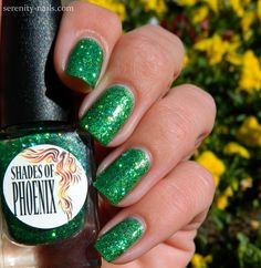 SoP- Mint Leaf http://serenity-nails.com/2014/09/01/an-monday-spring/
