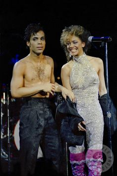 Prince & Sheila E by Daniel Gluskoter