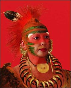 Orlan, American-Indian Self-Hybridizations, Native American History, American Indians, Art Actuel, Girl Artist, Paris Art, We Are The World, Body Love, Native Indian, People Art