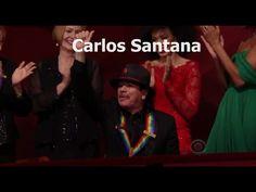 Carlos Santana Kennedy Center Honors 2013 Complete [Full Clip]