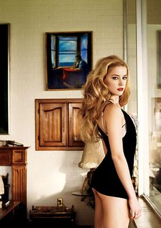 The fact that Amber Heard identifies as bisexual is proof that there is a God and that She is Benevolent.