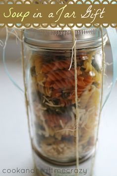 Cook and Craft Me Crazy: Soup in a Jar Gift