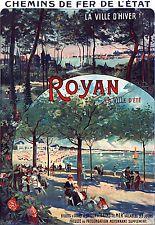 Affiche chemin de fer Etat - Royan 4