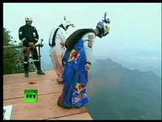 Wingsuit Proximity Flying in China with Jeb Corliss