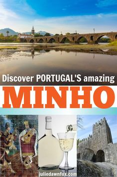 The stunning Minho region is a real must for your visit to Portugal, Europe. Check out this carefully chosen, fully managed itinerary of probably my favourite part of the country: learn about its rich history, varied architecture, beautiful scenery, delicious vinho verde and fascinating traditional crafts such as hand-painted tiles and gold filigree jewellery. One for your bucket list! #Europeitineraries #Portugaltravelitineraries #Portugaltours #Portugaltravel #Minho #toursfromPortoPortugal
