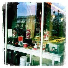 Angelina tea room Christmas 2010, Rue de Rivoli, Paris
