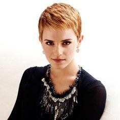 Emma Watson: Emma Watson Short Hair Picture