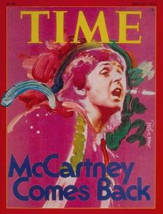"""""""superseventies:  McCartney Comes Back…Timemagazine, May 1976.  """""""