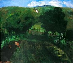 Vicarage, Garden -Nikolai Astrup Romanticism Paintings, Traditional Landscape, Oil Painting Reproductions, Paintings I Love, Modern Artists, Home Photo, The Real World, Painting & Drawing, Norway