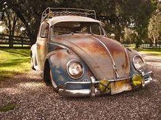 the ghost and the darkness: Photo Vw Bus, Vw Camper, Vw Rat Rod, Kdf Wagen, Rat Look, Beetle Car, Vw Vintage, Fancy Cars, Vw Beetles