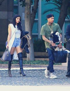 wow kylie being normal... this is why i liked tyga dating her...