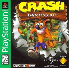 Crash Bandicoot (Sony PlayStation 1, 1996) Greatest Hits #playstation #retrogames #gamersunite