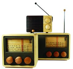 Magno Wooden Radio (Made In Indonesia)