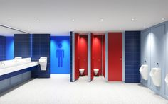 Stature Full Height Toilet Cubicles - Lan Services