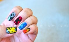 My homage to The Hunger Games! #nails #nailart #HungerGames #TheHungerGames