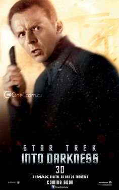 Star Trek Into Darkness - MRR's Sci-Fi Month #Giveaway - Star Trek Into Darkness Limited Edition Phaser and Bluray Gift Set! Go To https://www.facebook.com/MovieRoomReviews/app_228910107186452 to Enter!