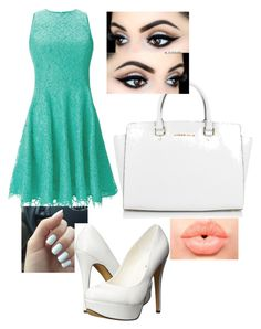 """""""Day 4"""" by aurorahart on Polyvore featuring Shoshanna, Michael Kors, Michael Antonio, NYX, women's clothing, women, female, woman, misses and juniors"""