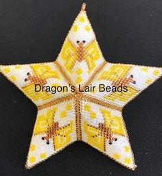 Dragons Lair Beads Beaded Stars