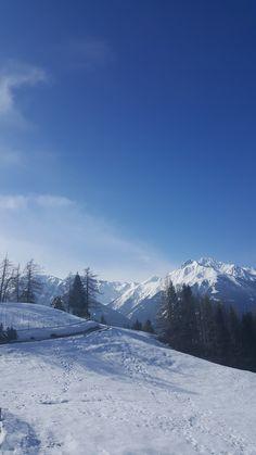 Winter in Mösern - Inn Valley Alps, Austria, Mountains, Winter, Nature, Travel, Voyage, Trips, Viajes