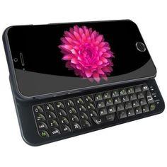 Zizo Ultra Thin Slide-Out Wireless iPhone 6/6S Keyboard Case - Black