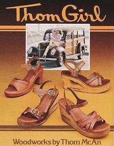 Mode Vintage, Vintage Shoes, Vintage Outfits, Vintage Ads, Vintage Trends, Vintage Accessories, Childhood Toys, Childhood Memories, 1970s Childhood
