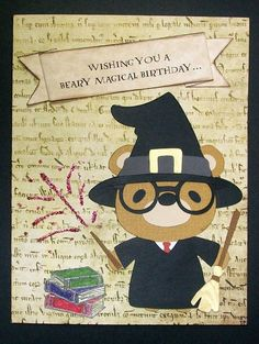 Card: Harry Potter birthday card