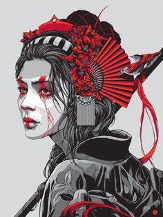 Me encanta el estilo de este ilustrador australiano. En su página http://kentaylor.com.au/ podemos ver parte de su trabajo