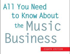 Libros industria musical. All you need to know about the music business