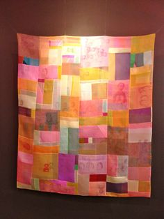 nifty quilts: Bojagi by Chunghie Lee