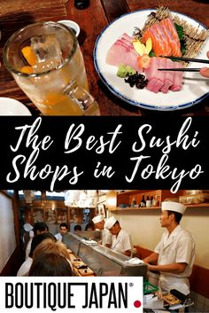 Looking for the best sushi experience of your life? Look no further than these 5 Tokyo sushi establishments (no, Jiro isn't on our list).