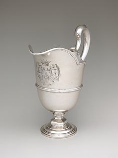 Peter Archambo I (British, active 1720; died 1759). Ewer (one of a pair), 1740/41. British, London. The Metropolitan Museum of Art, New York. Gift of Irwin Untermyer, 1968 (8.141.140)