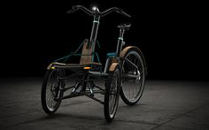 The KAYLAD-e trike makes getting around the city a cinch! The electric pedal-assisted design focuses on safety and security to give the rider peace
