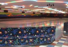 Roller skating rinks..spent so much time there :)