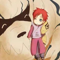 Gaara and Shukaku!! I just can't... .
