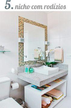 O post de hoje é para quem está morando num apartamento alugado sem armários, tem um banheiro social que só vai ser usado pelas visitas ou ...
