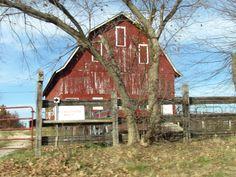 Traditional barn shape and color  J. Larson Missouri Ozarks